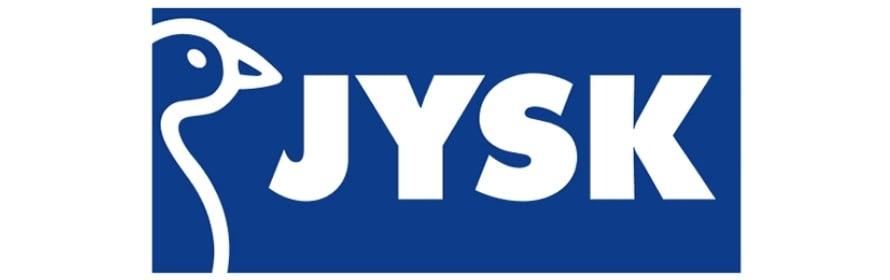Blå Jysk logo