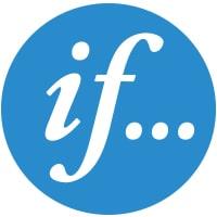 Blå logo If Forsikring & Skadeforsikring